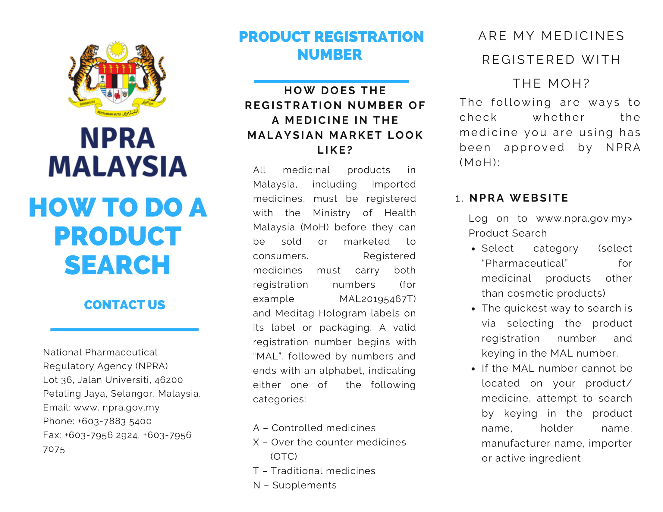 NPRA PRODUCT SEARCH